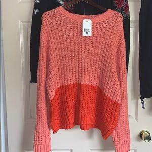 Bright Billabong sweater